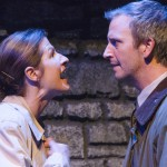 Performers Emily Paton Davies and Tim McCracken in Outside Mullinger*