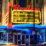Boulder Theater Marquee