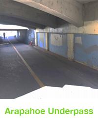 arapahoe underpass mural