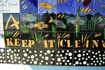 Public Artwork by Casey Middle School Students