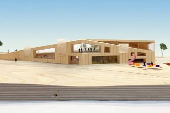 NoBo Library Design Concept by WORK Architecture Company